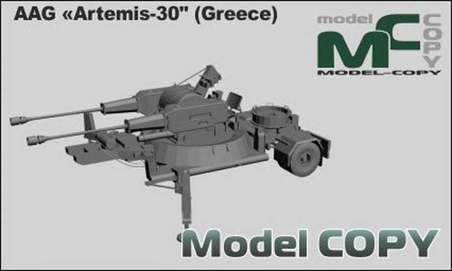 "AAG «Artemis-30"" (Greece) - 3D Model"