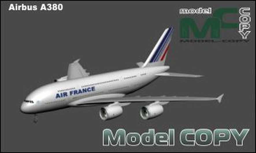 Airbus A380 - 3D Model