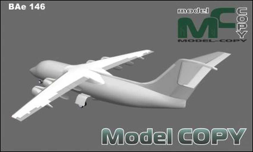 BAe 146 - 3D Model