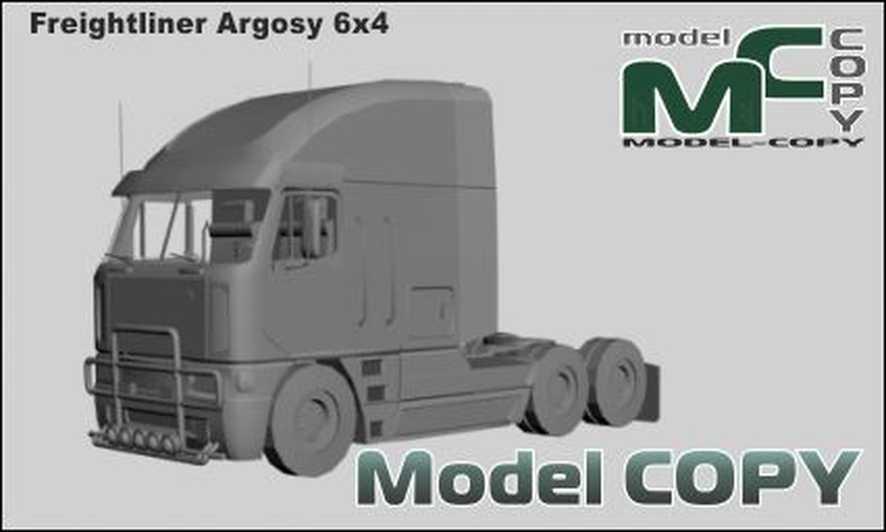 Freightliner Argosy 6x4 - 3D Model