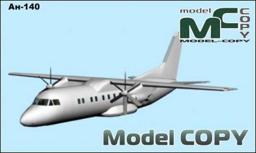 An-140 - 3D Model