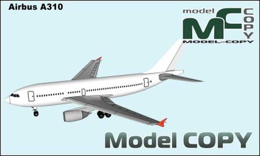Airbus A310 - 3D Model