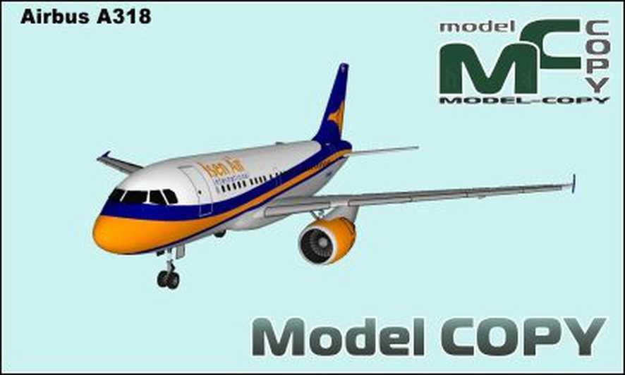 Airbus A318 - 3D Model