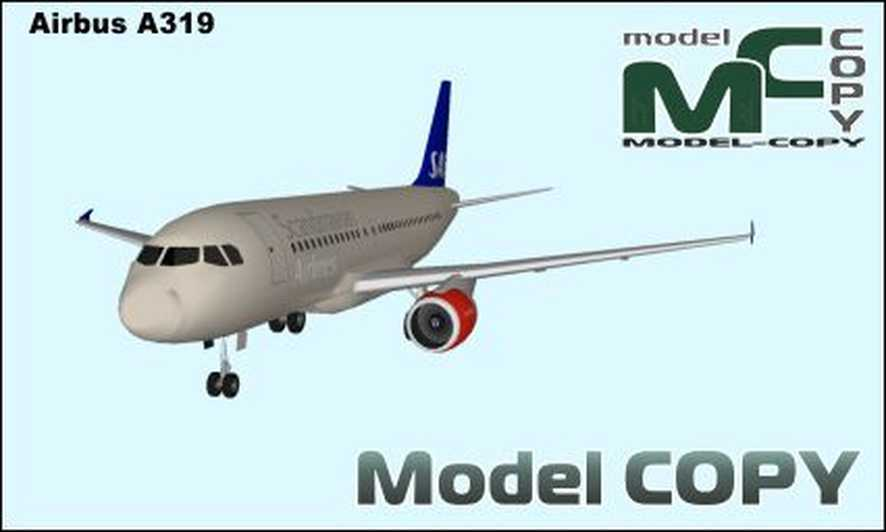 Airbus A321 - 3D Model