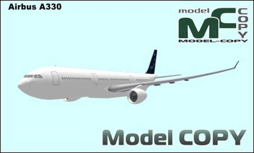 Airbus A330 - 3D Model