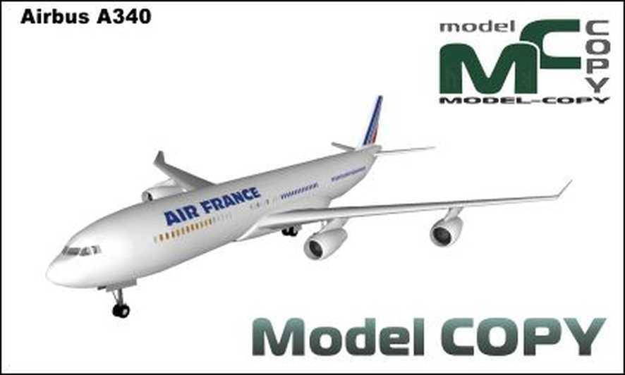 Airbus A340 - 3D Model