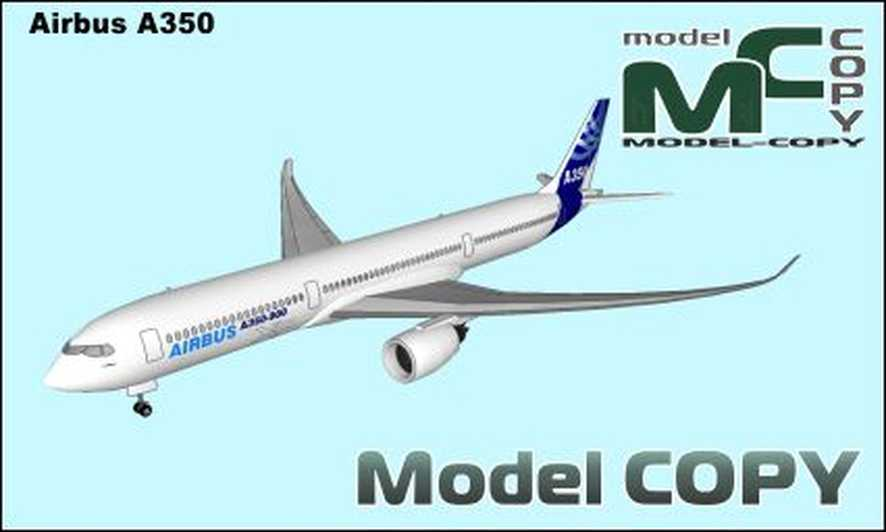 Airbus A350 - 3D Model