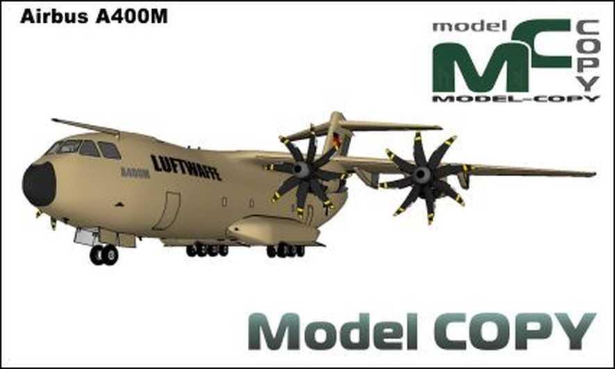 Airbus A400M - 3D Model