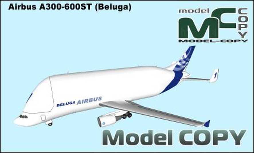 Airbus A300-600ST (Beluga) - 3D Model