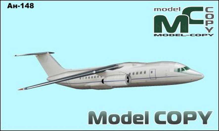 An-148 - 3D Model
