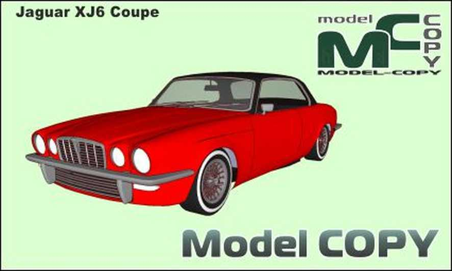 Jaguar XJ6 Coupe - 3D Model