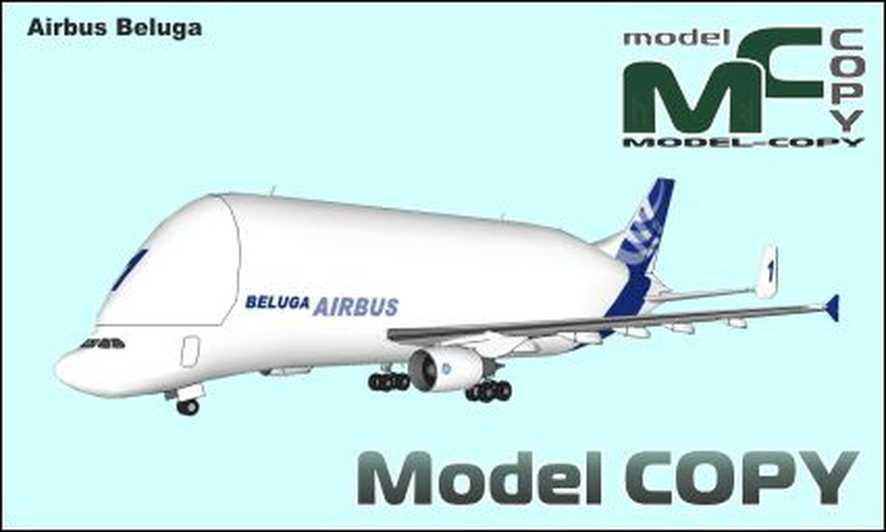 Airbus Beluga - 3D Model