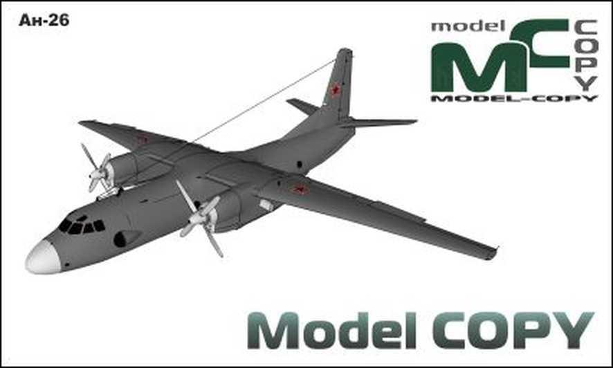 An-26 - 3D Model