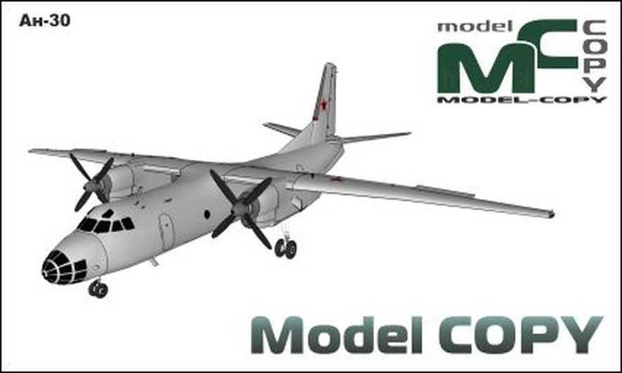 An-30 - 3D Model