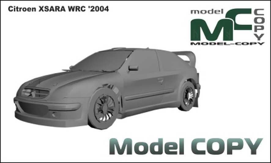 Citroen XSARA WRC '2004 - 3D Model