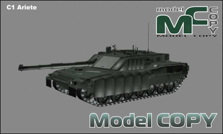 C1 Ariete - 3D Model