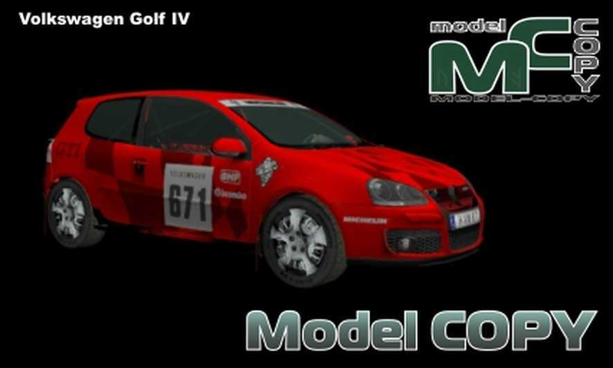 Volkswagen Golf IV - 3D Model