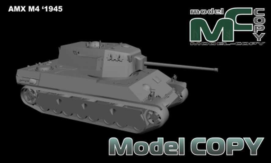 AMX M4 '1945 - 3D Model