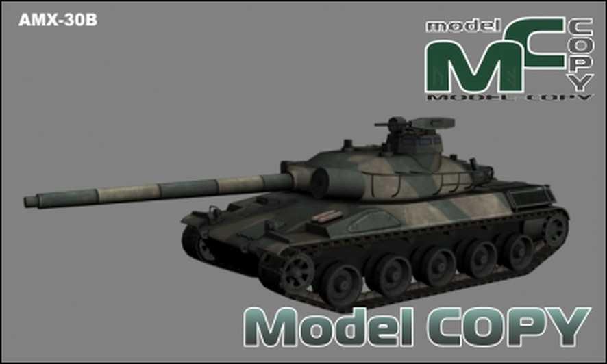 AMX-30B - 3D Model