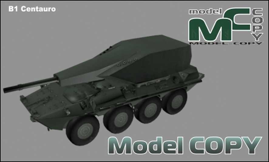 B1 Centauro - 3D Model