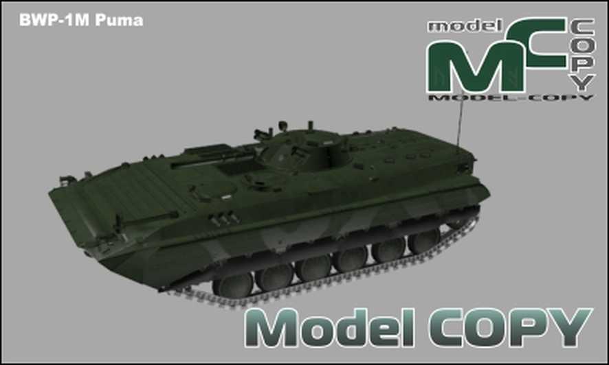 BWP-1M Puma - 3D Model