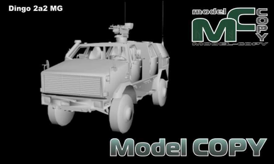 Dingo 2a2 MG - 3D Model