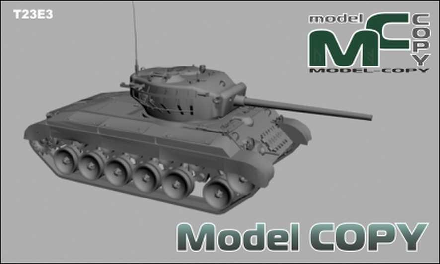 T23E3 - 3D Model
