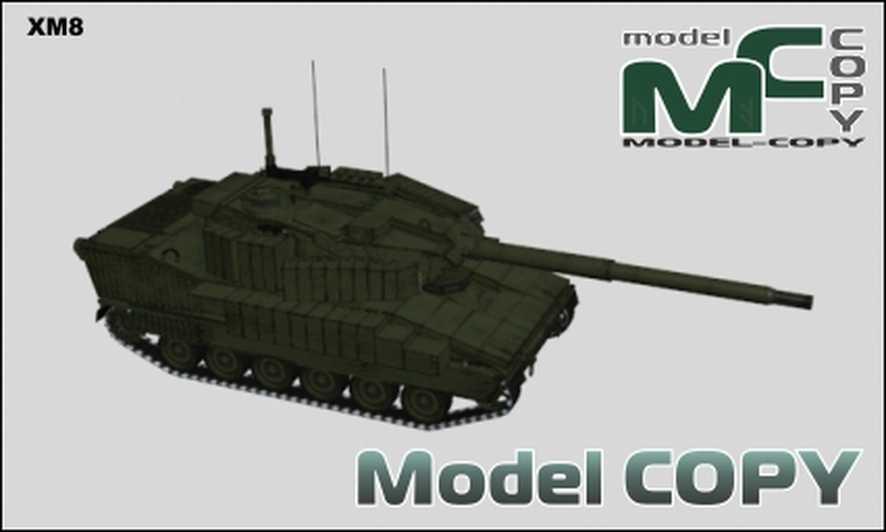 XM8 - 3D Model