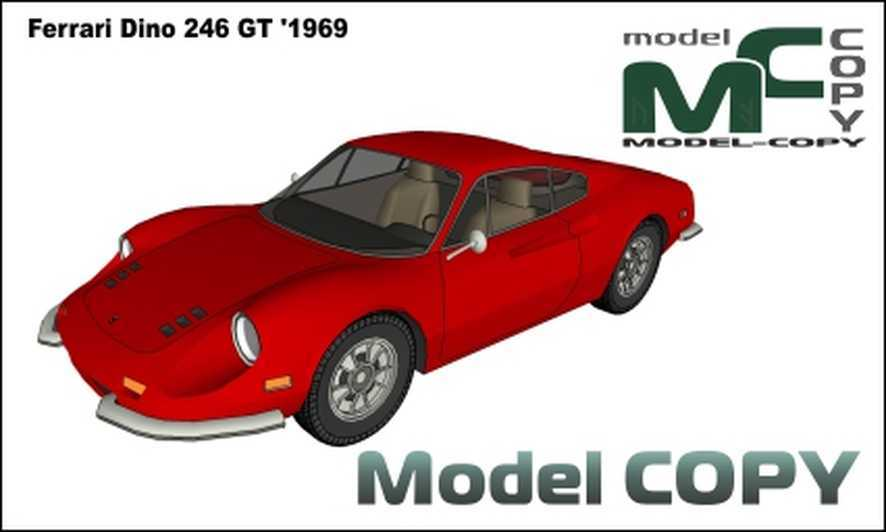 Ferrari Dino 246 GT '1969 - 3D Model