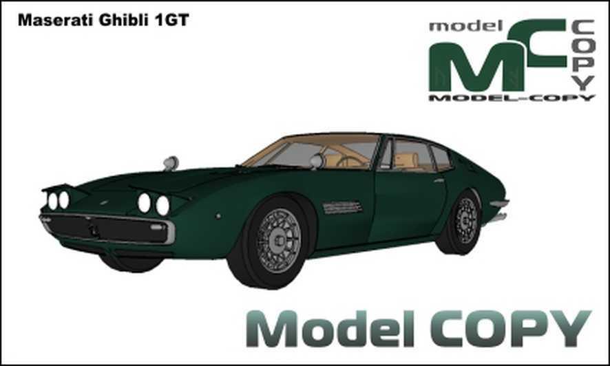 Maserati Ghibli 1GT - 3D Model