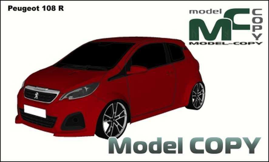 Peugeot 108 R - 3D Model