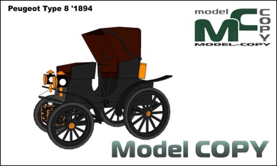 Peugeot Type 8 '1894 - Σχέδιο
