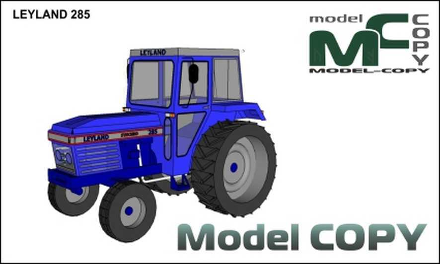 LEYLAND 285 - 3D Model