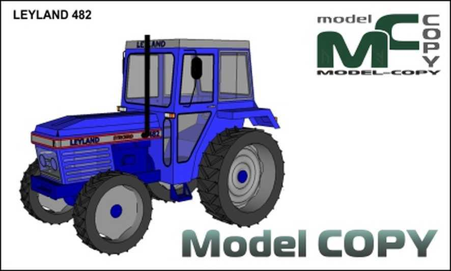 LEYLAND 482 - 3D Model