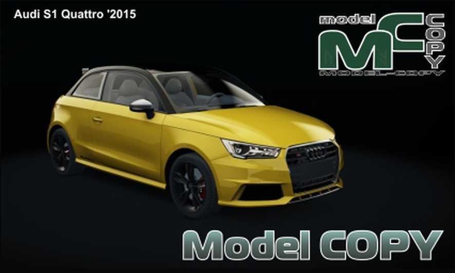 Audi S1 Quattro '2015 - 3D Model