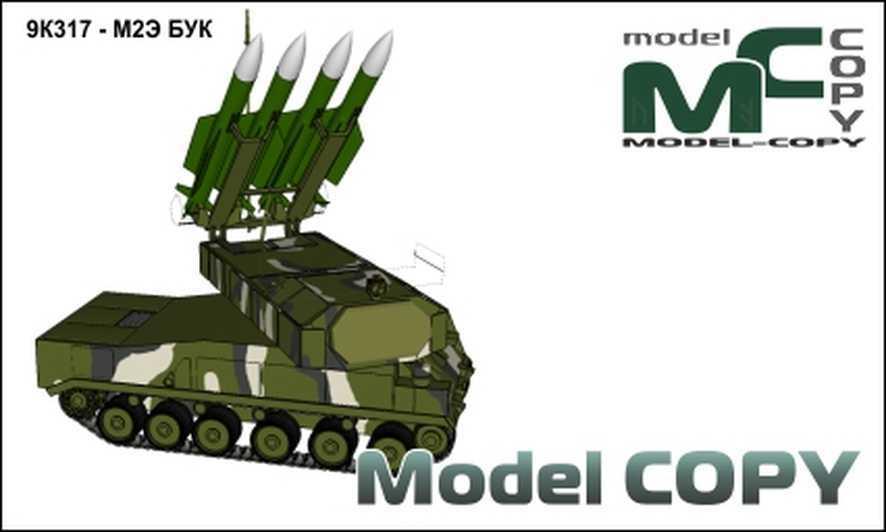 9K317 - M2E BUK - 3D Model