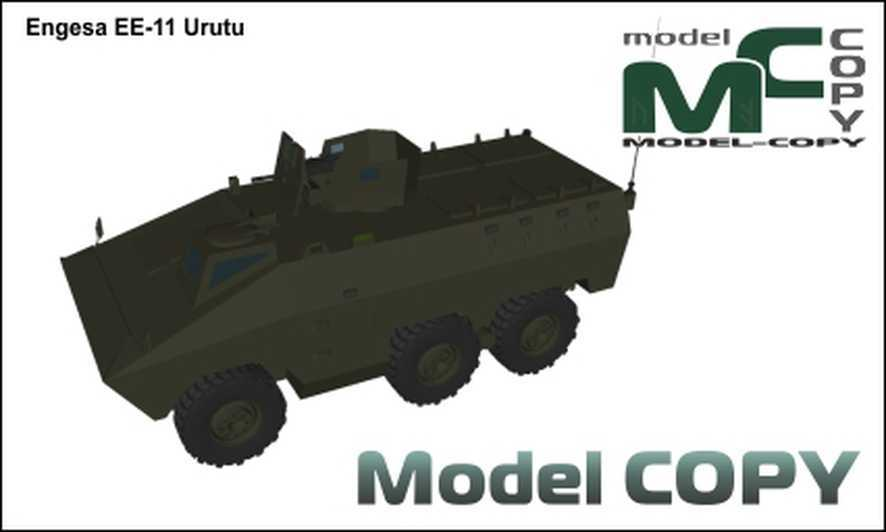 Engesa EE-11 Urutu - 3D Model