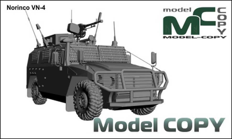 Norinco VN-4 - 3 डी मॉडल