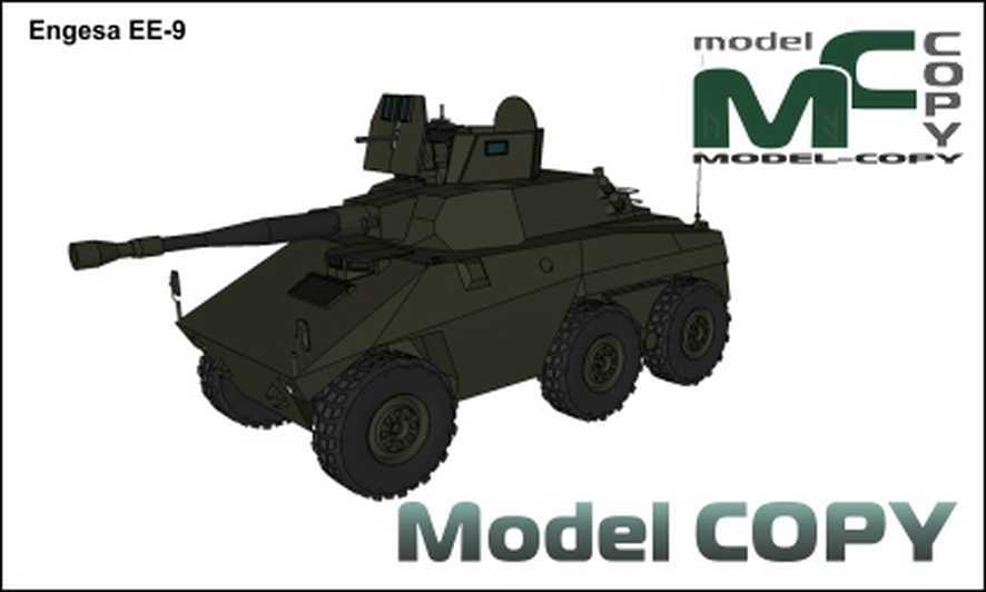 Engesa EE-9 - 3D Model