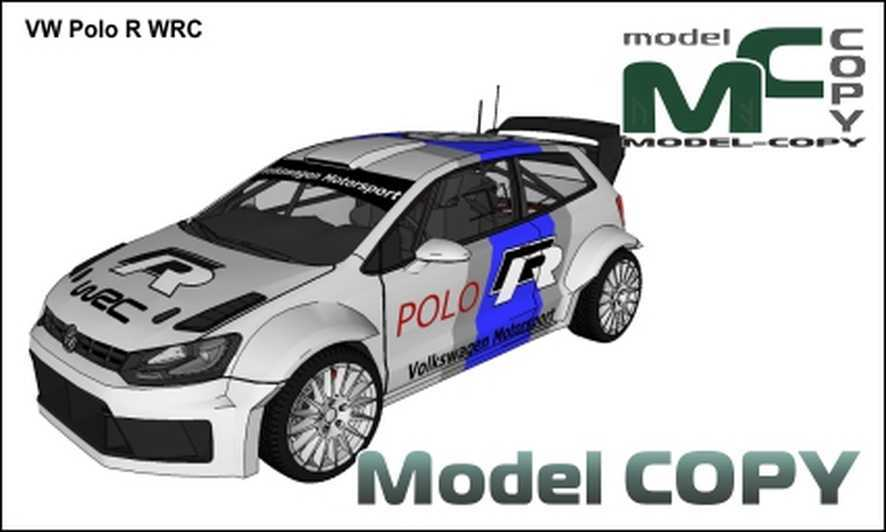 Volkswagen Polo R WRC - 3D Model