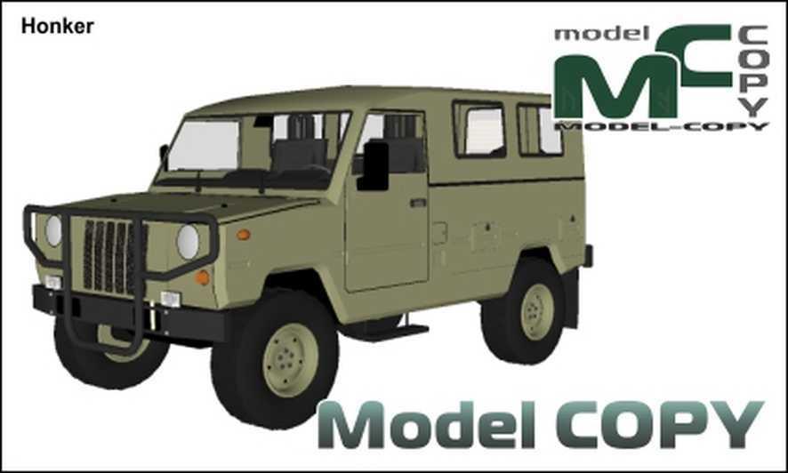 Honker - 3D Model