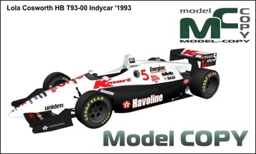 Lola Cosworth HB T93-00 Indycar '1993 - 3D Model