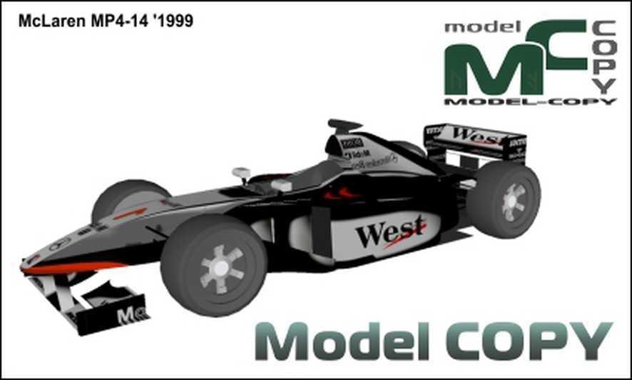 McLaren MP4-14 '1999 - 3D Model