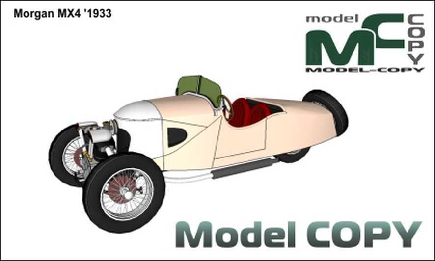 Morgan MX4 '1933 - 3D Model