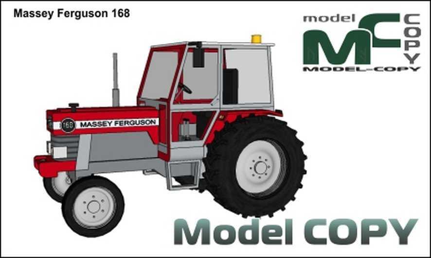 Massey Ferguson 168 - 3D Model