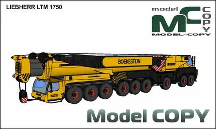 LIEBHERR LTM 1750 - 3D 모델