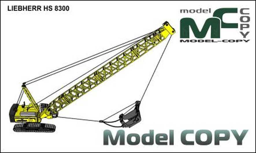 LIEBHERR HS 8300 - 3D Model