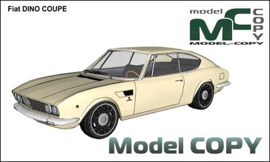 Fiat DINO COUPE - 3D Model