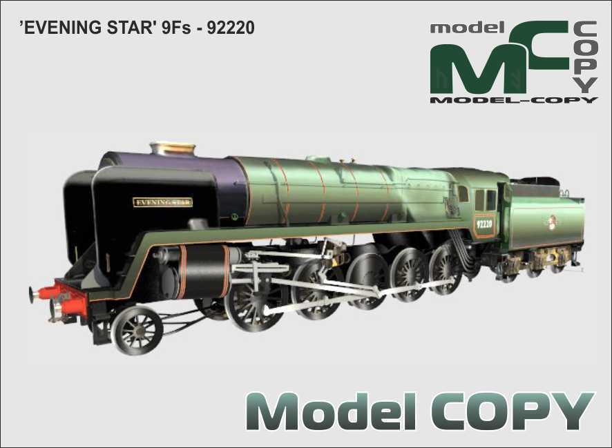 9Fs EVENING STAR - 92220 - Model 3D