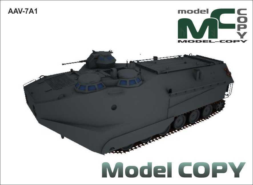 AAV-7A1 - 3D Model